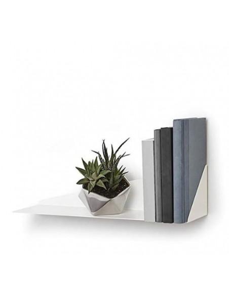 Repisa metálica angular para pared