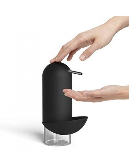 Dispensador de jabón color negro
