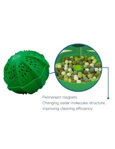 Bola de lavado ecológica para lavadora