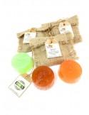 Jabón facial 100% natural y artesanal con manzanilla para piel mixta