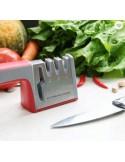 Afilador de tijera y cuchillos, 4 en 1, calidad profesional