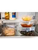 Cubiertas para alimentos en set de 6 piezas - Silicona de grado alimenticio