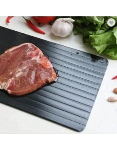 Bandeja rápida para descongelar carne - Aluminio