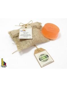 Jabón facial, 100% natural y artesanal -piel delicada y seca-