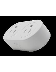 Interruptor inteligente temporizador doble - Amazon Alexa - Google Home