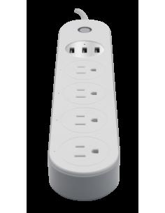 Interruptor Inteligente Temporizador cuadruple - Amazon Alexa - Google Home