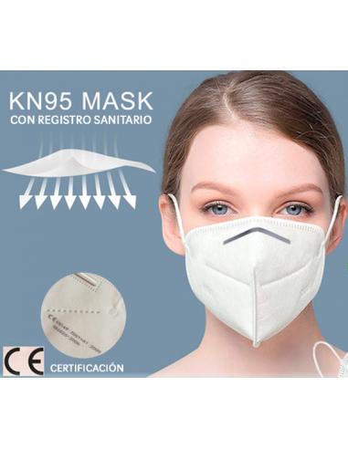 Mascarillas KN95 Importadas